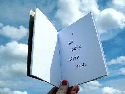 如果你有足够的勇气说再见!生命太短暂了